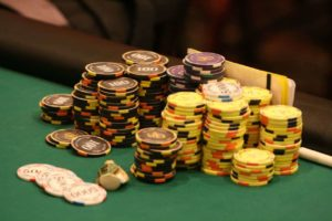 poker tournament bubble